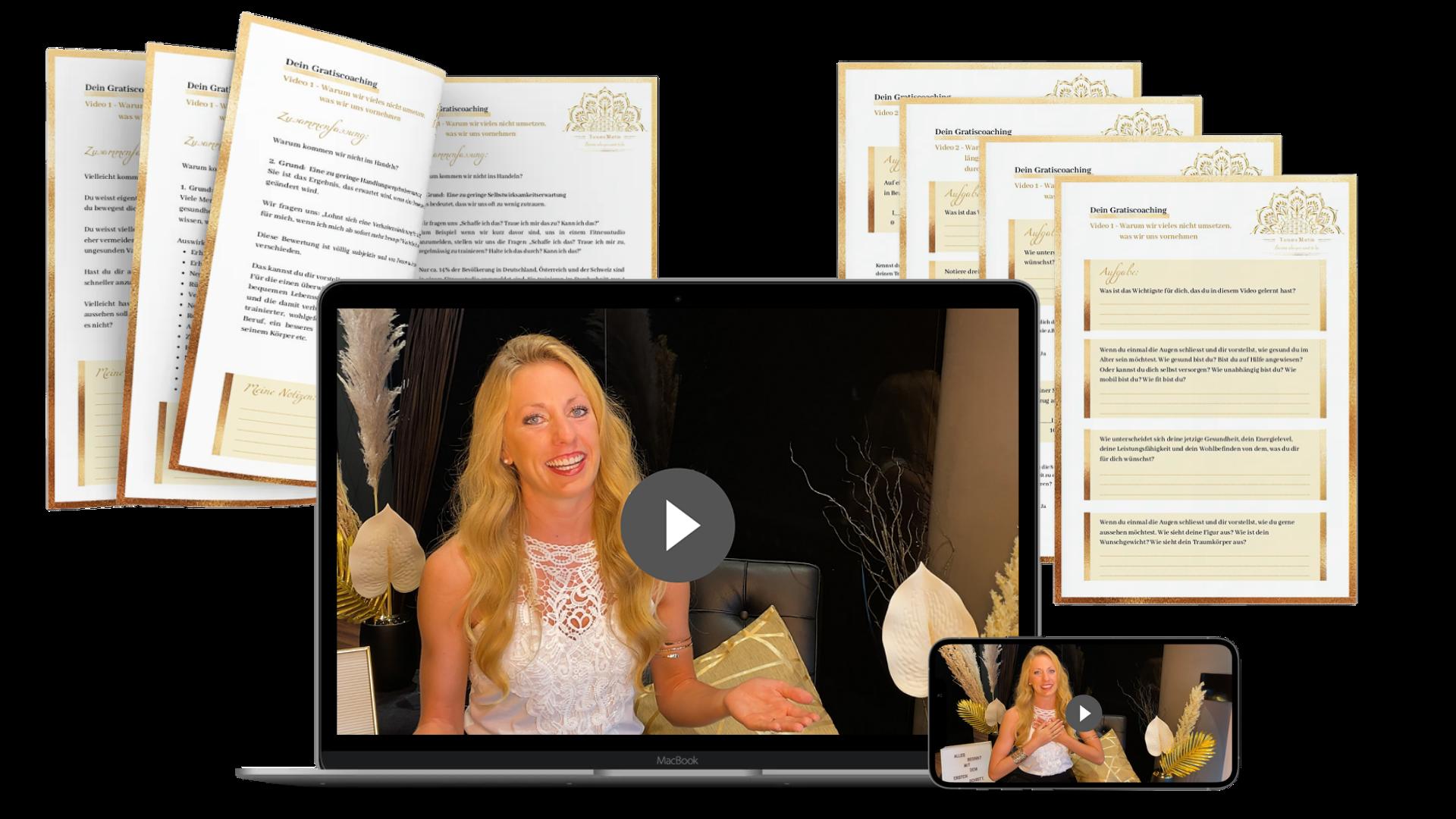 Tamara Martin Coaching Online Video Motivation Abnehmen Gesundheit Coach