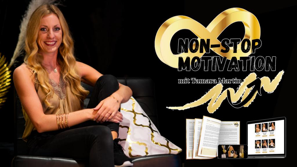 Tamara Martin Non-Stop Motivation Onlinekurs Body&Mind Coach Coaching Mindset